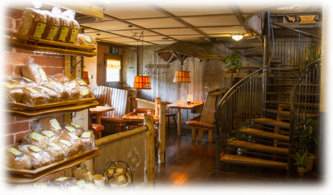 1st floor of the Yellow Deli